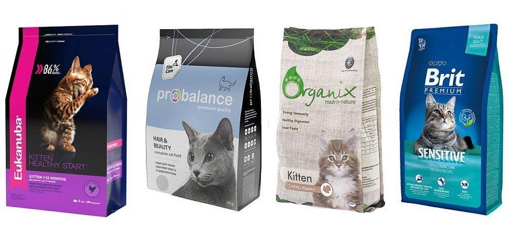 Корма для кошек премиум-класса сбалансированы по витаминному и минеральному составу и обладают высокими питательными свойствами, в их составе уже нет химических добавок, однако сделаны они также из субпродуктов
